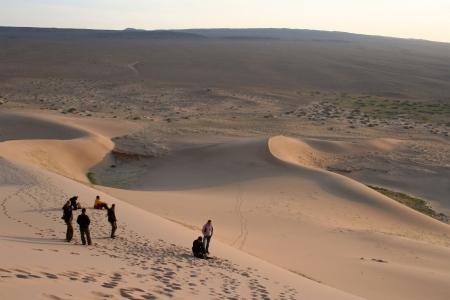 Dune desert - mongolia