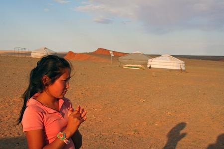 issyk kul: Yurt camp, Mongolia