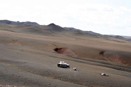 desert - mongolia  photo
