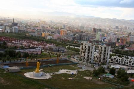 Ulaanbaatar, capital of Mongolia  Stock Photo