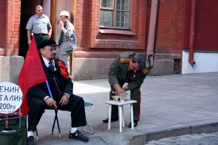 lookalike: Lenin look-alike  Editorial