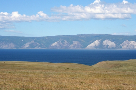 Olkhon island, lake Baikal, Siberia, Russia  photo