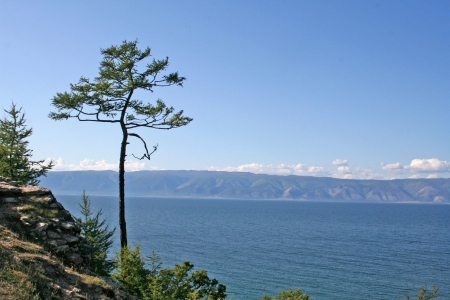 Cape Burkhan in Olkhon island, lake Baikal, Siberia, Russia  Stock Photo - 18266959