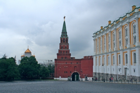 Kremlin tower, Moscow, Russia Stock Photo - 18205441