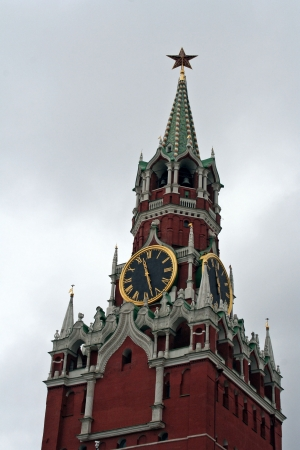 spassky: Spassky Tower of Moscow Kremlin  Russia, Moscow