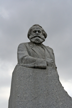 marx: Karl Marx statue, Moscow, Russia