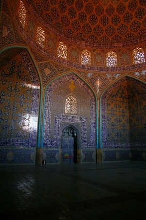 interior of Imam Mosque in Isfahan, Iran Stock Photo - 19598432
