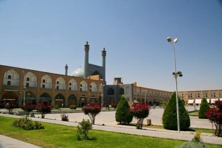 esfahan: Jameh Mosque in Esfahan  Isfahan  - Iran