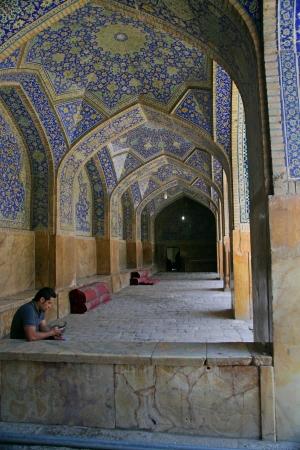 imam: Jameh Mosque in Esfahan  Isfahan  - Iran