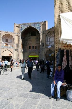 imam:  Mosque in Esfahan  Isfahan  - Iran  Editorial