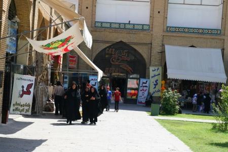 Mosque in Esfahan  Isfahan  - Iran  Stock Photo - 18471192