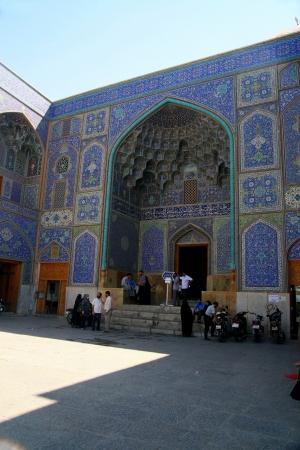 esfahan: Mosque in Esfahan  Isfahan  - Iran  Editorial