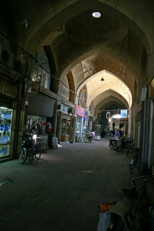 esfahan:  Street near Jameh Mosque in Esfahan  Isfahan, Iran   Editorial