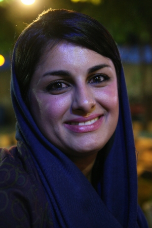 Beautiful iranian young woman im Shiraz, Iran  Editorial
