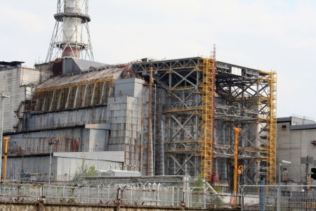 Chernobyl nuclear power station Stock Photo - 18479248