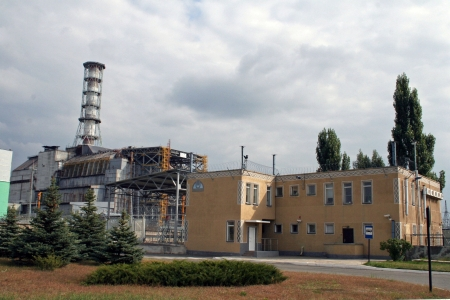 Chernobyl nuclear power station Stock Photo - 18479211