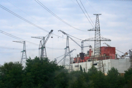radioisotope: Chernobyl nuclear power station, abandoned construction of reactor 5-6