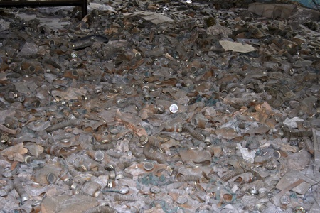 Gasmask in dead city, Chernobyl  Stock Photo - 18480243