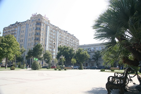 baku: View of Baku, Azerbaijan