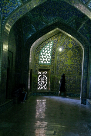 interior of Imam Mosque in Isfahan, Iran  Stock Photo - 18510047