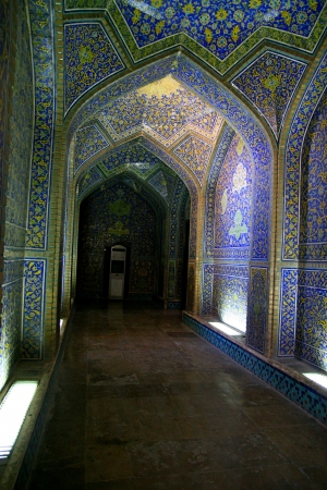 interior of Imam Mosque in Isfahan, Iran  Stock Photo - 18510059