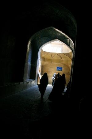 imam: Jameh Mosque in Esfahan  Isfahan  - Iran  Editorial
