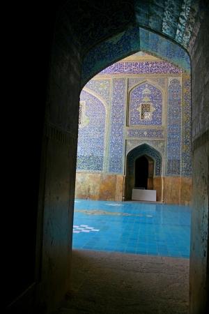 esfahan: Jameh Mosque in Esfahan  Isfahan  - Iran  Editorial