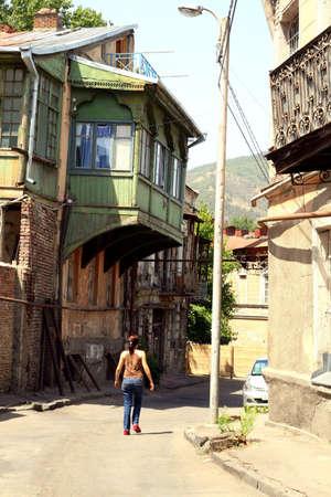Old Tbilisi, Republic of Georgia  Stock Photo - 18536741