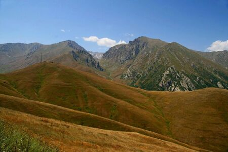 Mountain landscape,  Armenia  photo