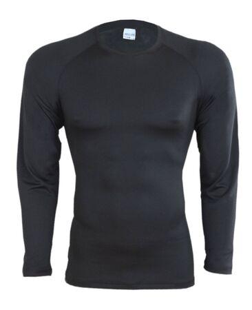 Black long-sleeved T-shirt  photo