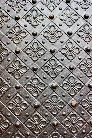 Old door with ornament Stock Photo - 19446869
