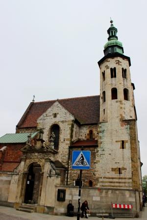 andrew: St  Andrew s Church in Krakow