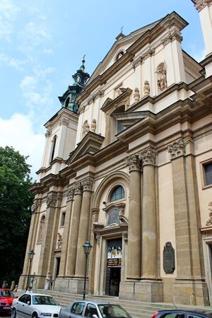 Church of St. Anne, Cracow, Poland Editorial