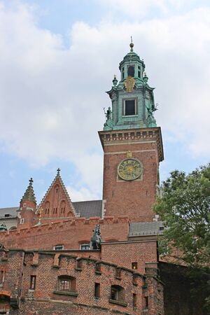 cracow: Wawel Castle in Cracow, Poland