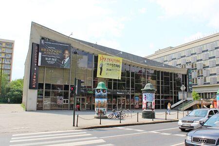 cracow: Cinema Kiev in Cracow, Poland Editorial