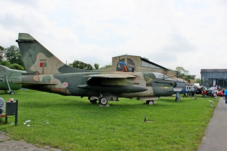A-7 Corsair fighter jet
