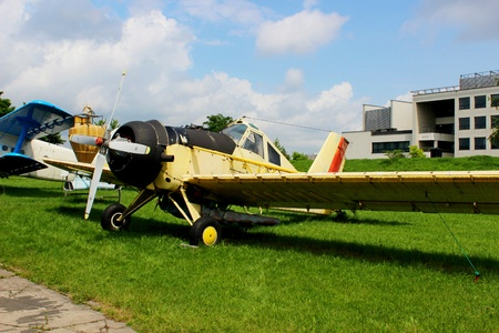 small plane: Small plane, Polish Aviation Museum, Cracow