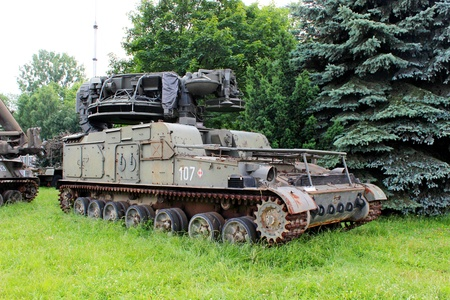 russian military vehicle