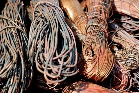 Copper scrap  photo