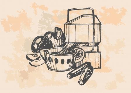 Retro style kitchen mixer