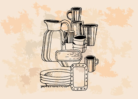 Kitchen devices  Vector