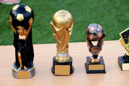 simple soccer trophies