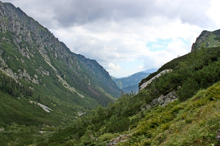 Mountains Tatry in Poland - Roztoka Valley photo