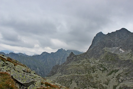 mnich: MiÄ™guszowiecki mountain in Polish Tatras
