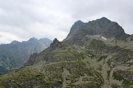 mnich: Mięguszowiecki mountain in Polish Tatras