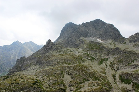 MiÄ™guszowiecki mountain in Polish Tatras  photo