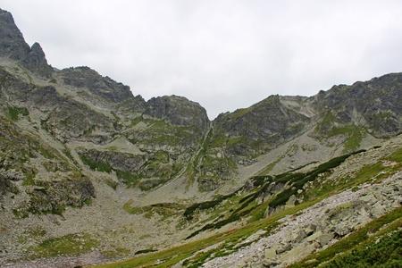 giewont: Tatra Mountains - Wrota Chałbińskiego  Stock Photo