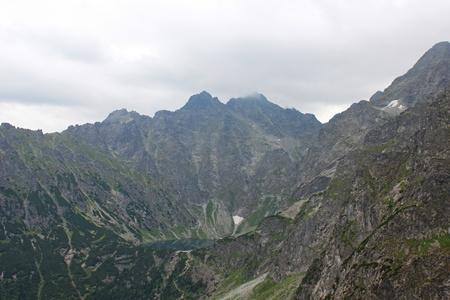 morskie: Tatra Mountains, mount Rysy