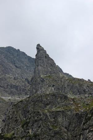 giewont: Mnich mountain in Polish Tatras