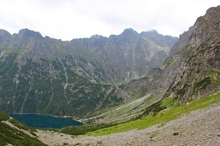 morskie: Tatra Mountains  Rysy summit